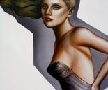 Brandi in a Jean Paul Gaultier corset