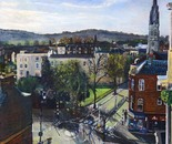 View Over Cheltenham To St Gregory's Church