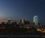 Fort Worth Skyline Sunset