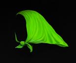 The green headscarf