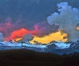 Suisse sunset