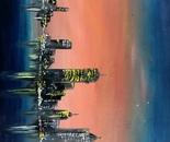 'a black bright city'