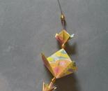 Origami jewellery piece 1