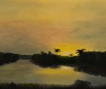 Everglades At Dawn