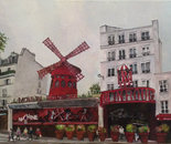 """Moulin rouge"" Parigi"