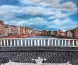 """""""Il ponte di mezzo"""" Pisa"""