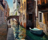 A Pathway in Venice