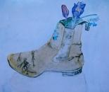 Crocus in boot