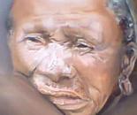 Bushman woman