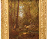 FRANK ANDERSON (AMERICAN 1844 – 1891) A CATSKILL CREEK