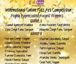 Highly Appreciated Award