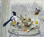 Still Life with Magpie