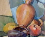 composizione con melanzana