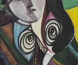 Elena Pop Dolce risveglio, acrilici su tela, cm. 90x70