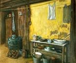 old dutch farm kitchen