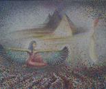 A Vision of Izida and Athena