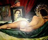 VENERE ANNUNCIATA (Lo specchio della vita) da Velasquez