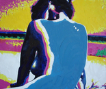 Lidia 07, 2017, Oil on Canvas, 61/61 cm