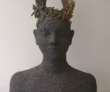 Godess of volcanic stone