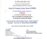 Winner ,France art contest