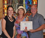 Winner , Arts et Rives symposium  2012