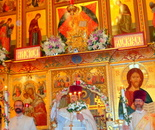 Easter 2017 at Russian Orthodox Cathedral of St. John the Baptist in Washington DC on April 15, 2017; 4001 17th St NW, Washington, DC 20011