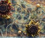 Sun Flower (Fragment)