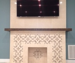 Custom Designed Fireplace Year: 2016