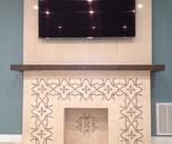 Custom Designed Fireplace Year: 2016