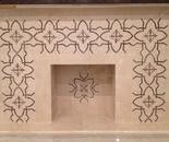 Fragment # 2 of Custom Designed Fireplace