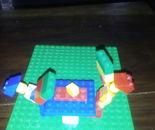 Lego table tennis