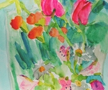 Tulips,Carnations and daiseys