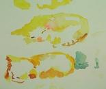 Gestural kitten