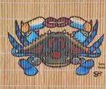 Placemat Crab