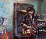 Lemmy , dancing with the devil