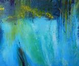 Flood, 190x150 cm, oil on canvas, 2017.