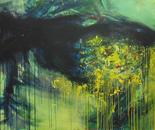 Ecstasy, 190x150 cm, oil on canvas, 2017.