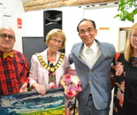 The Mayor of Welwyn & Hatfield Opens International Exhibition