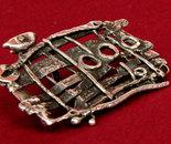 Hundertwasser, brooch