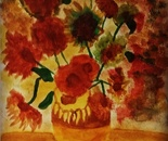 Vases of fifteen flowers