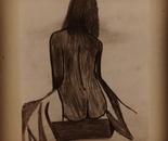 Mona lisa pencil sketched  drawings
