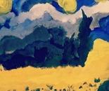 Artist Antonello the land