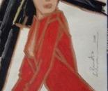 Mulher Vestida De Vermelho