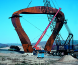 ''Hadany Arch'' under construction