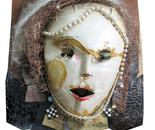 The masked lady