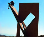 ''Urban Sculpture'' under construction