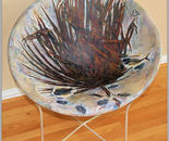 Cycad Leaf Fossil Chair