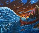 Ulisse vs Nettuno - 150x100 cm - 2014.