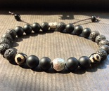 Bracelet from natural stones