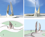 Proposal for traffic island in Eilat